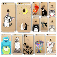 For iphone  5 5S 5C SE 6S 6 6SPlus 4 4S Mobile Phone Case Soft TPU Beautiful Animal Peacock Phone Case Cover Housing For iPhone