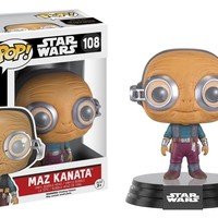 Funko Pop Star Wars: Maz Kanata 108 9621