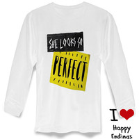 She Looks So Perfect Song 5 Seconds Of Summer long sleeve on S-3XL heppy feed.