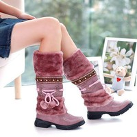 On Sale Hot Deal Thick Crust Winter Boots [11192814727]