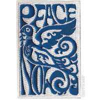 Peace Now Dove  Patch on Sale for $4.99 at HippieShop.com