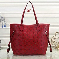 Louis Vuitton LV Women Fashion Leather Handbag Satchel Shoulder Bag Crossbody-2