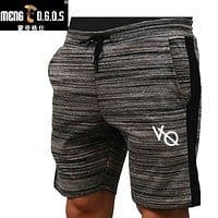 Men's Gyms Shorts With Pockets Clothing Fitness walking workout jogger shorts