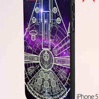 Star Wars Millenium Falcon 2 iPhone 5 Case