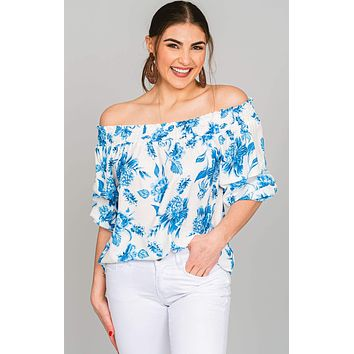 Peony Off Shoulder Blouse