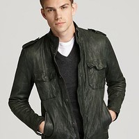 Vince Leather Jacket | Bloomingdale's