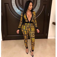 Versace Women Retro Jumpsuit-2