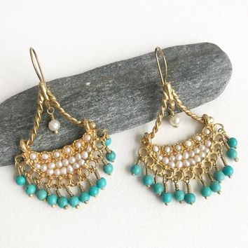 Handcrafted Earrings - Statement Piece