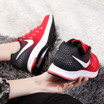 """""""NIKE"""" Trending Fashion Casual Sports Shoes Red/Black"""