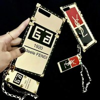 FENDI/ YSL iPhone Phone Cover Case For iphone 6 6s 6plus 6s-plus 7 7plus H-AGG-CZDL