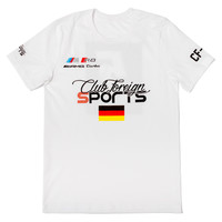 Club Foreign Sports T-Shirt Germany Series in White