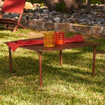 Picnic Table-In-A-Bag dark Brown
