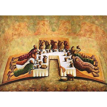 The Lord's Last Supper - Open Edition (Offset Lithograph)