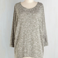 Mid-length 3 Sports Rapport Top in Sage