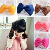 Baby Girl Infant Toddler Headband Big Bowknot Bow Hair Band Accessories Headwear = 1706389508