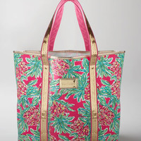 Lilly Pulitzer Pink Spike Punch Tote