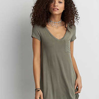 AEO Cross-Back Dress, Black