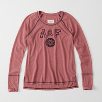 Womens Graphic Long-Sleeve Tee | Womens Clearance | Abercrombie.com