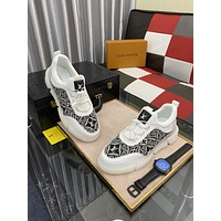 LV Louis Vuitton2021  Men Fashion Boots fashionable Casual leather Breathable Sneakers Running Shoes0526wk