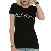 Paramore Logo Girls T-Shirt