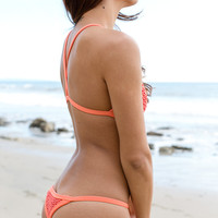 Posh Pua - Kainalu Crochet Bottom | Coral