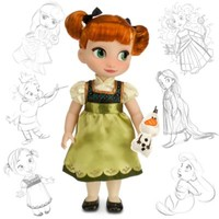 Anna From Frozen Animator Doll | Disney Store