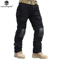 Emersongear Gen2 Combat Pants With Knee Pads BDU Army Airsoft Tactical Gear Paintball Hunting Trousers Multicam ACU Emerson