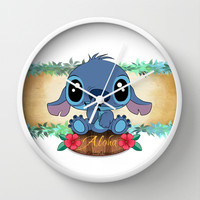 Aloha... Wall Clock by Emiliano Morciano (Ateyo)