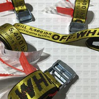 Off-white Belt Unisex Hip Hop Fashion Style Skateboard Off White Virgil Abloh Belts