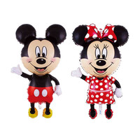 Giant Mickey Minnie Balloon, Cartoon Foil Birthday Party Balloon Balloons for Kids Baby Toys Party Decorate
