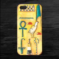 Egyptian Mummy King Tut Cartouche Box iPhone 4 and 5 Case