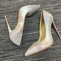 Christian Louboutin Cl Pumps High Heels Reference #02bk39 - Best Deal Online