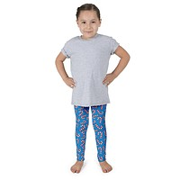 Christmas Cute Candy Cane Kid's leggings