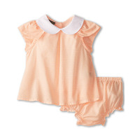 Fendi Kids Baby Girl S/S Top With Collar And Bloomers (Infant)