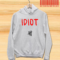 Michael Clifford's  Idiot,5sos idiot,idiot Pullover hoodies Sweatshirts for Men's and woman Unisex adult more size s-xxl at mingguberkah