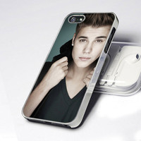 CDP 0025 Cool Justin Bieber Style- Design - iPhone 4 / 4S / 5 - Black / White / Clear