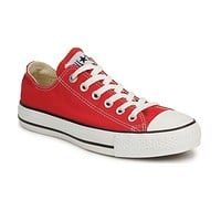 Converse Chuck Taylor All Star Low Top Red/White M9696 Womens Canvas Shoes