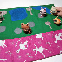 Littlest Pet Shop and Polly Pocket Wallet and Play by SafferyMoore