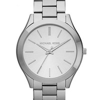 Michael Kors Ladies Silver Watch