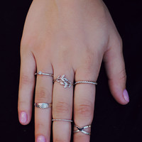 Promise Me Something Ring Set