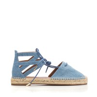 Aquazzura Belgravia Denim Espadrille - Shop Luxury Shoes | Editorialist