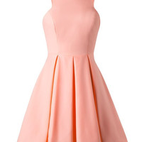 Dinner Party Dress - Neon Peach