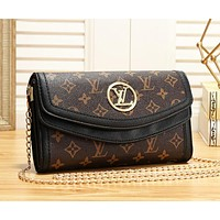 Louis Vuitton LV Fashion New Monogram Print Leather Shoulder Bag Women