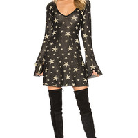 House of Harlow 1960 x REVOLVE Christie Dress in Star Print