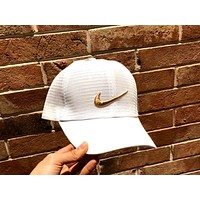 NIKE Tide brand outdoor sports baseball cap white