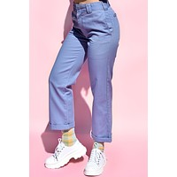Chambray Rolled Hem Work Pant by Dickies Girl