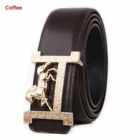 Hermes New Fashion H Horse Buckle Women Men Leisure Belt Coffee
