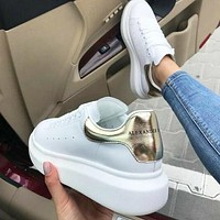 Alexander McQueen Popular Women Men Leisure Sport Running Sneaker Shoes