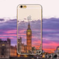 London's Big Ben iPhone Transparent Soft Silicone Case