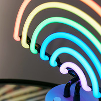 Sunnylife Rainbow Neon Table Lamp | Urban Outfitters